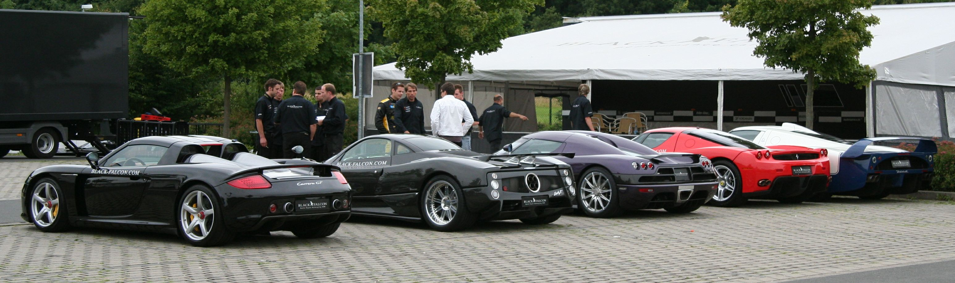 At the 'Ring 2day - SUPERCARS