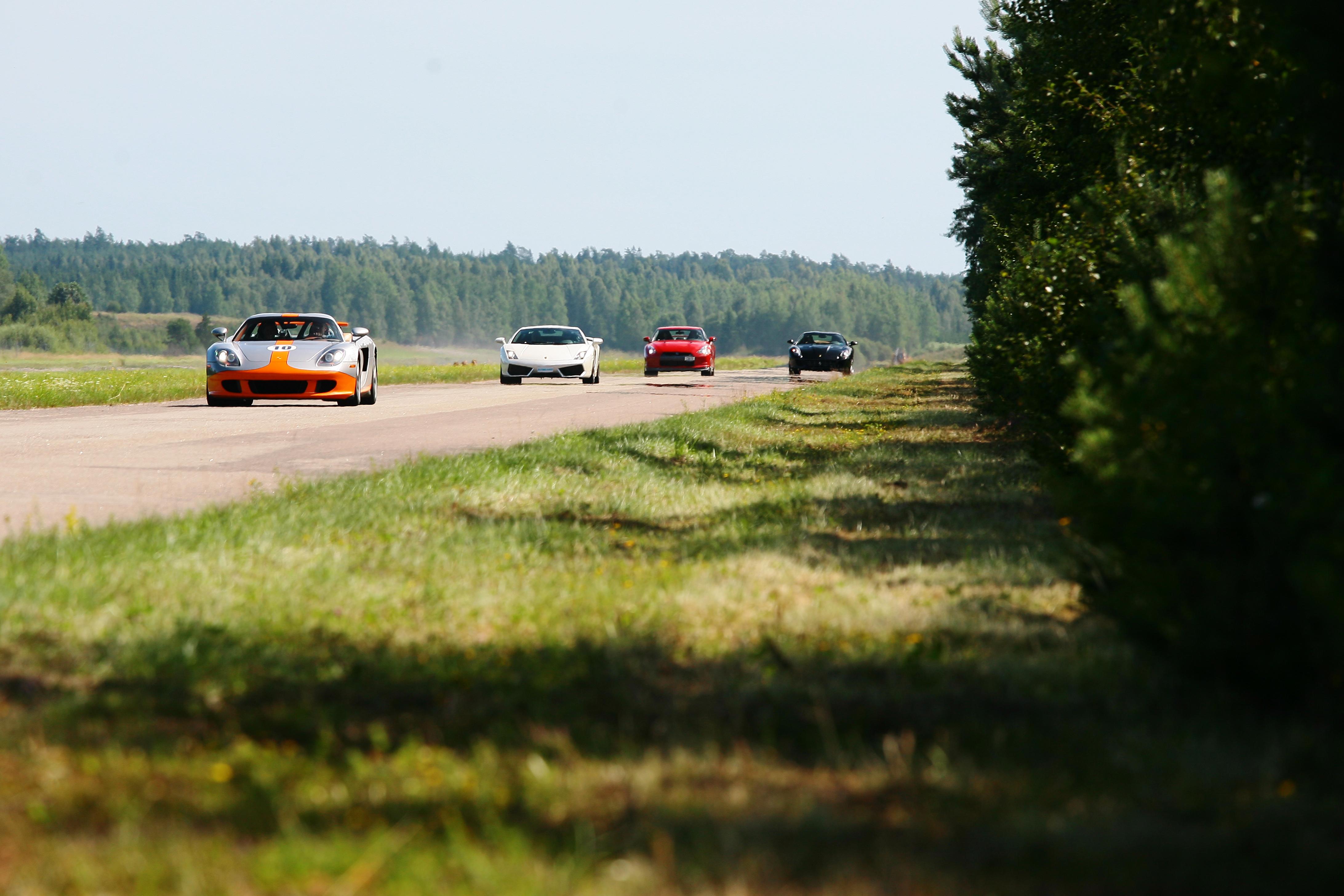 BMW M5, Porsche Carrera GT