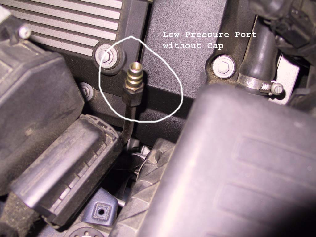 Recharge Air Condition Diy Low Pressure Port Jpg