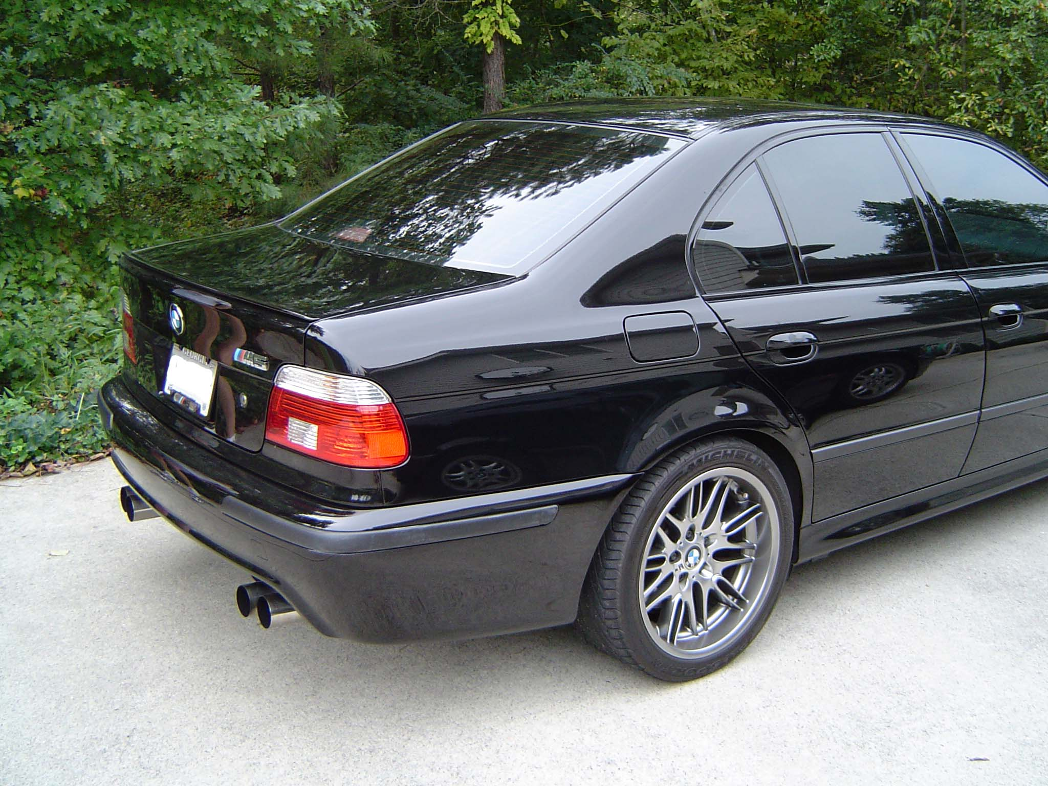 License plate frame - BMW M5 Forum and M6 Forums