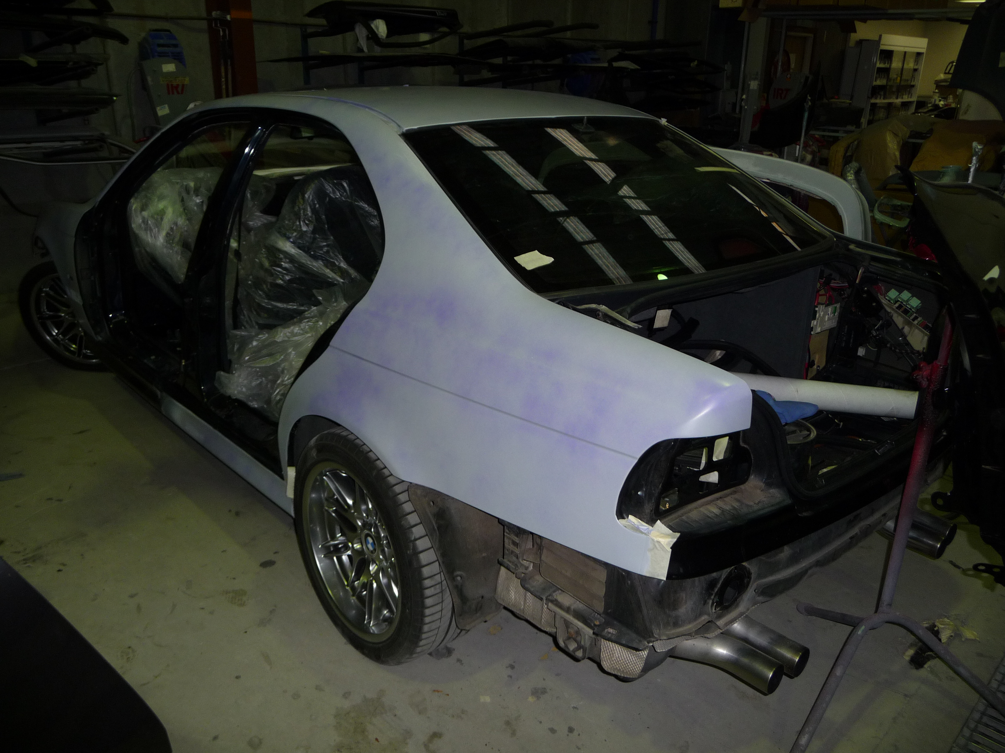 My Carbon Black bare metal respray - progress photos-m5-primer-001.jpg