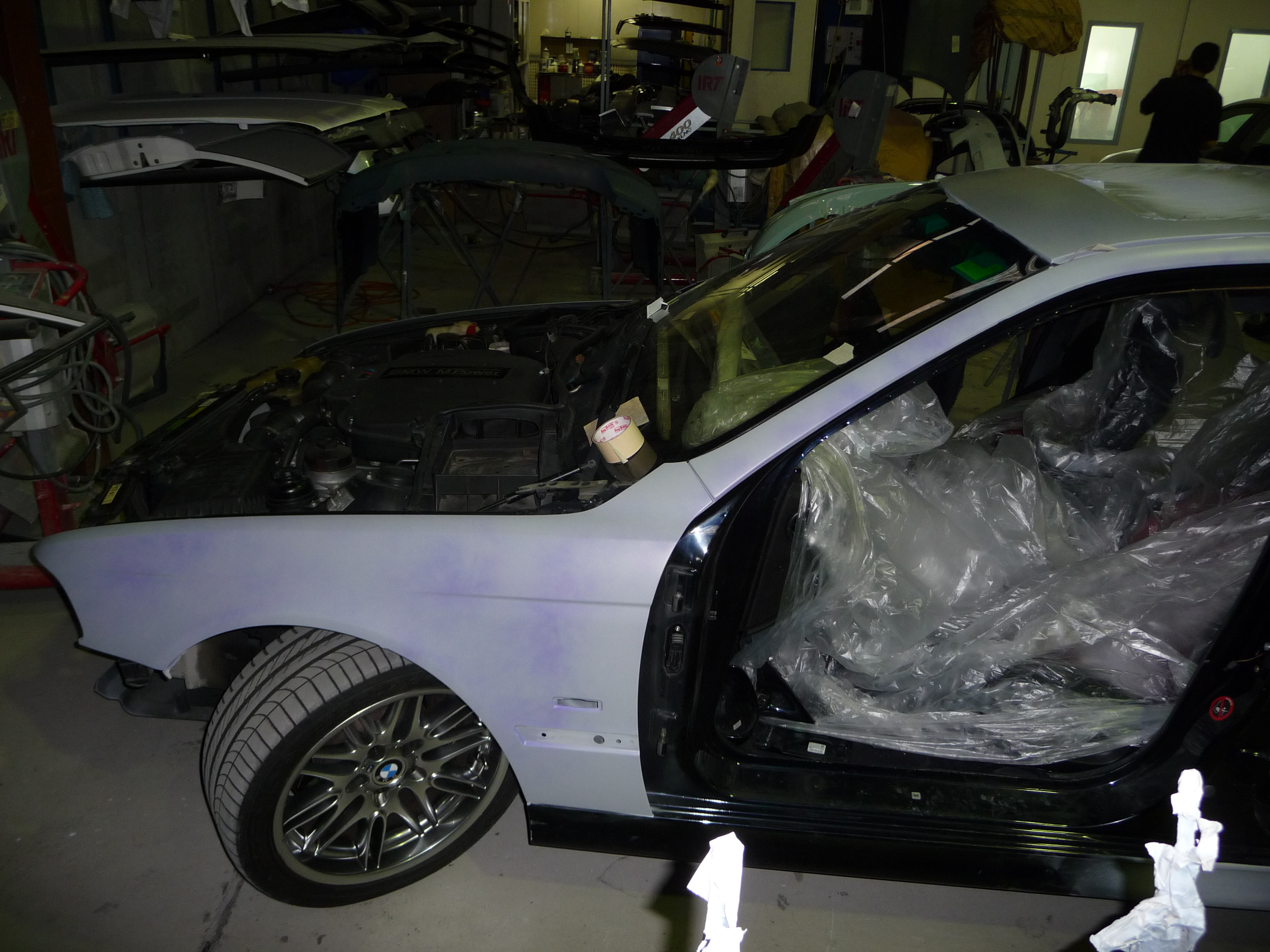 My Carbon Black bare metal respray - progress photos-m5-primer-003.jpg