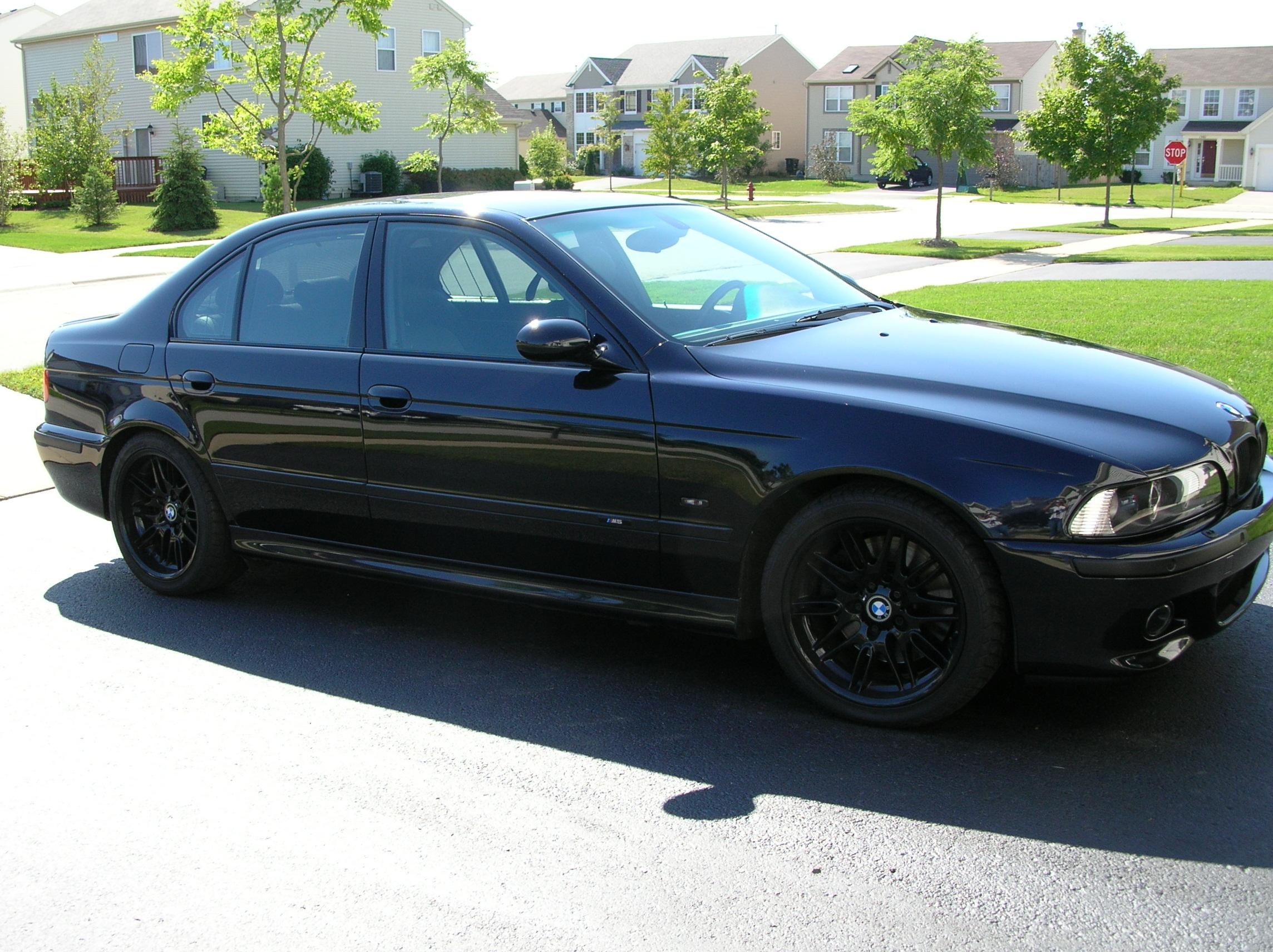 E39 9603 For Sale Powder Coated Black M5 Rims for sale  BMW M5