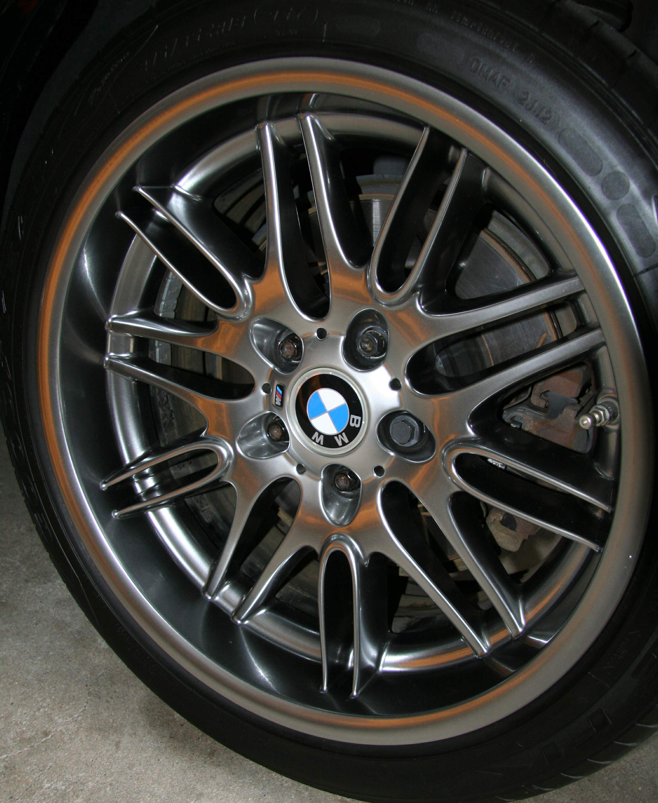 My M5 Oem Shadow Chrome Wheels Quest For Refurbish