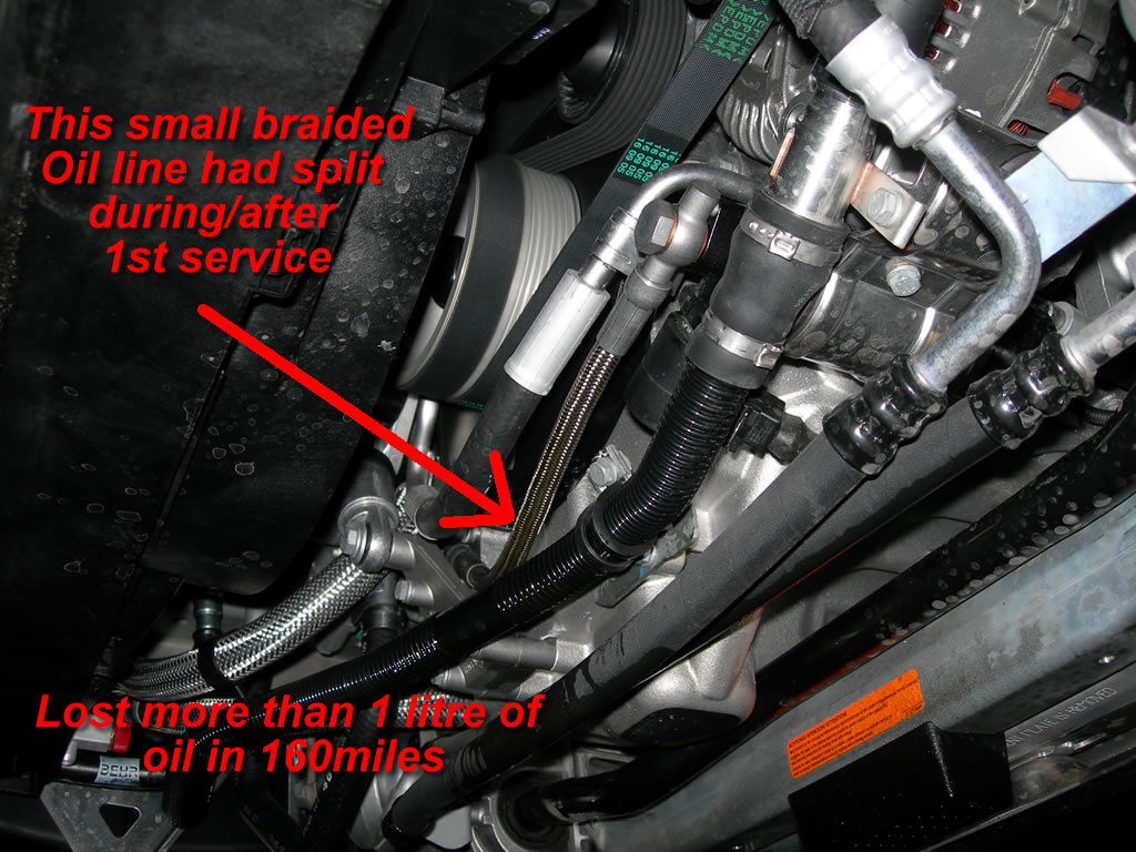 Pictures Of The Vanos Line Oil Leak Bmw M5 Forum And M6