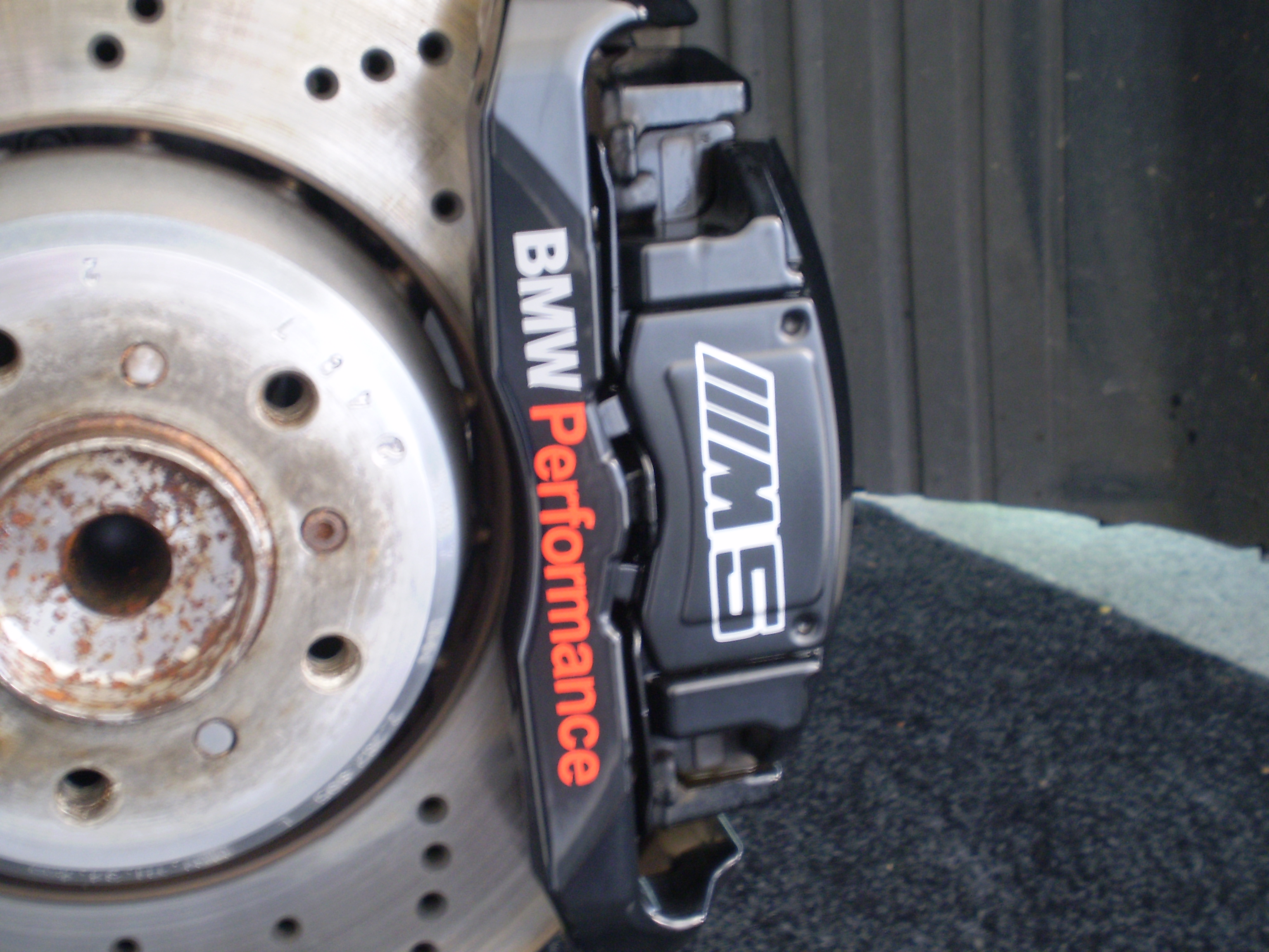 Caliper And Wheel Detail PICS BMW M Forum And M Forums - Bmw brake caliper decals