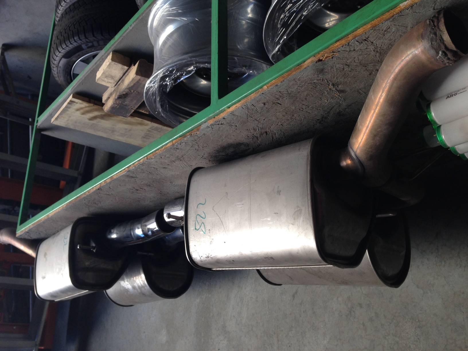 E60  03-10  For Sale Stock Exhaust Mufflers From An 2008 M5