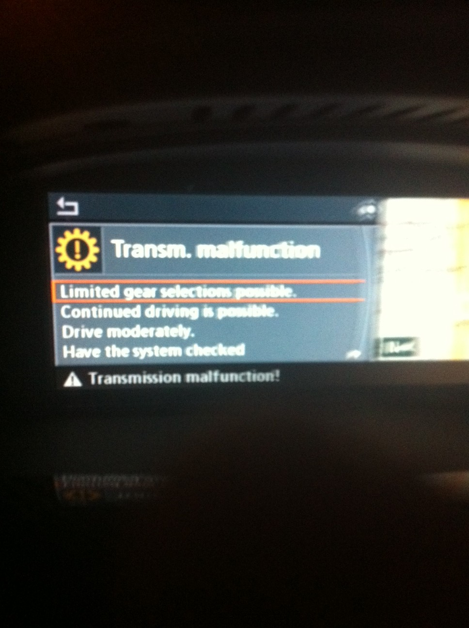 Transmission Malfunction AGAIN! 2nd time this year  - BMW M5 Forum