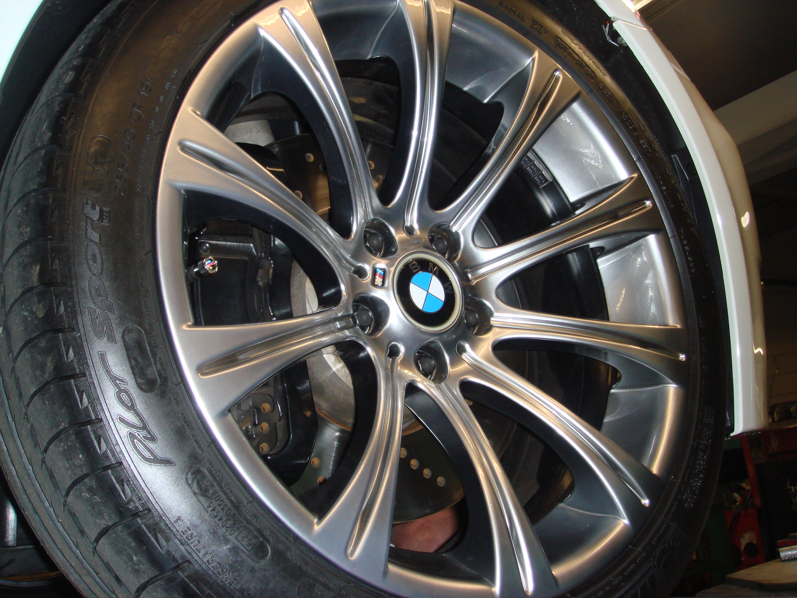 Had My Stock Rims Powder Coated Bmw M5 Forum And M6 Forums