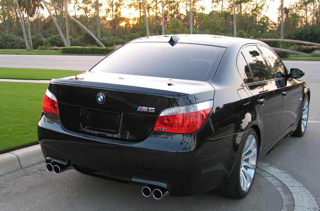 Black Saphire Windows Tinted Bmw M5 Forum And M6 Forums