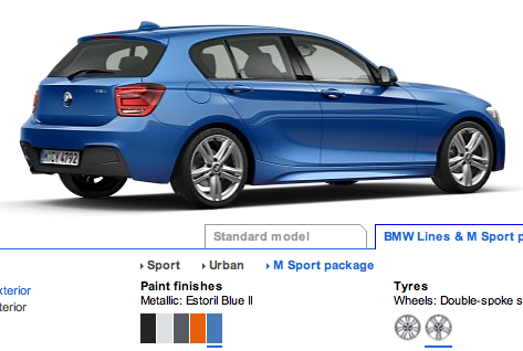 135isport 2012 Blue on Blue Back Colour 1 Series Now Estoril Blue Ii Maybe Possible New Bmw