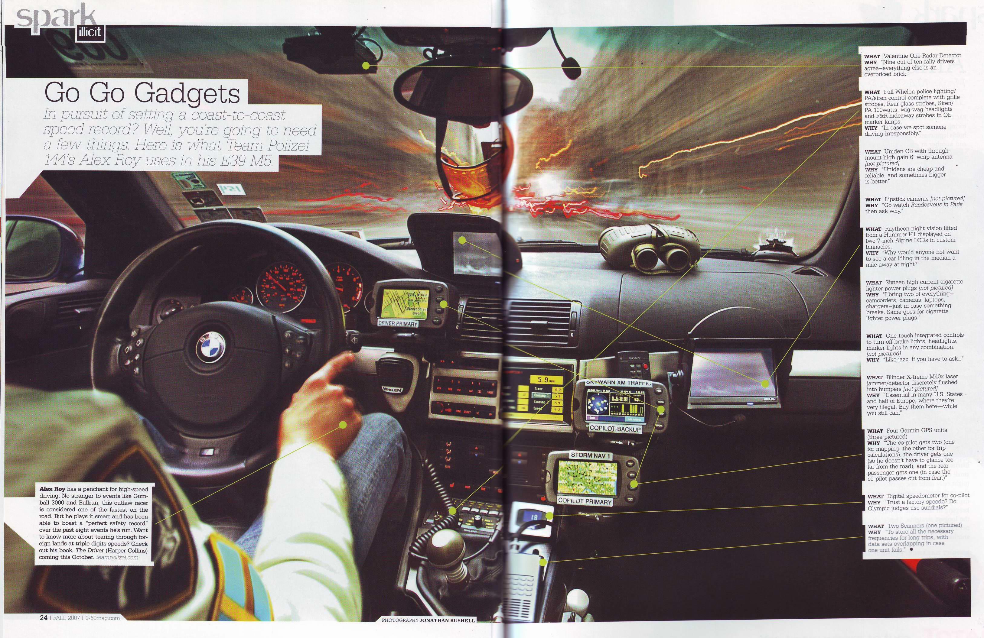 Alex Roy's M5 (Cop proof?) - BMW M5 Forum and M6 Forums