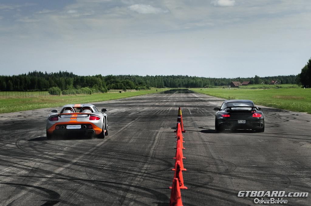 carrera gt vs: