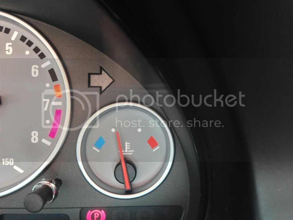 Engine Temp not longer gets to the middle of the dial (Pic