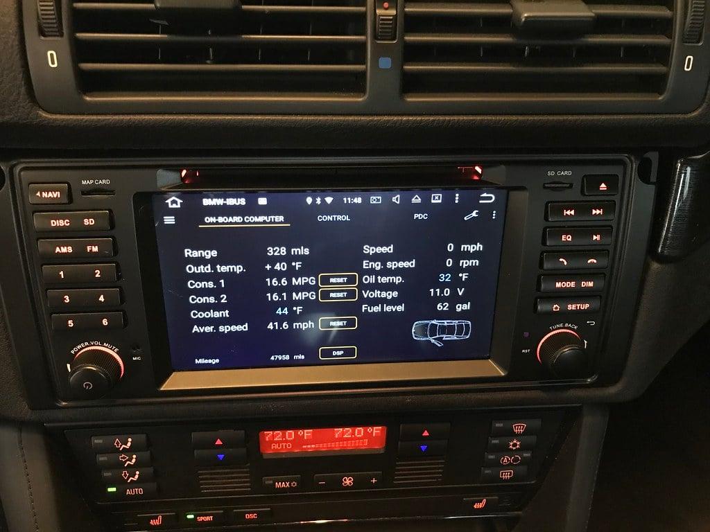 DIY: - Xtrons PB7639BP Android Head Unit Installation | BMW