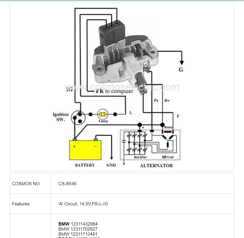 Alternator Replacement choices | Page 2 | BMW M5 Forum and M6 ForumsM5Board