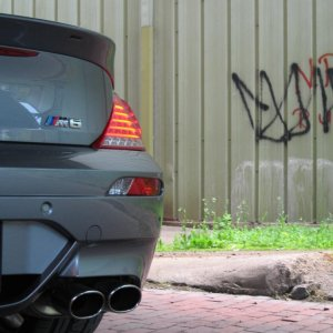 ACS tail with Eisenmann Race exhaust