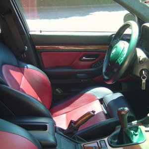 Imola red interior