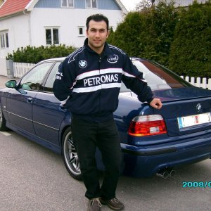 Me and my BMW M5 ;)