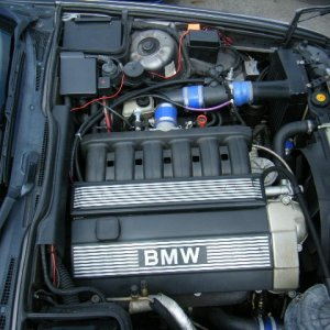 Aftermarket turbo on an M50
