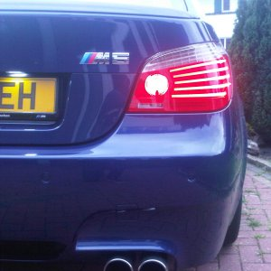 New number plate lights
