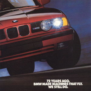 E34 M5 Machines that Fly Ad 2