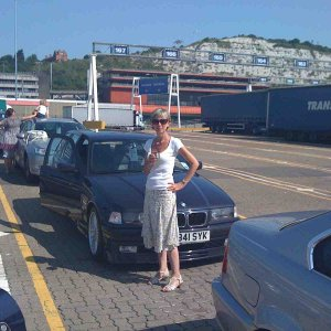 Dover Ferryport - Waiting for the ferry to France