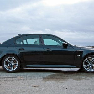 2005 BMW M5 Individual - Opal Black with Platinum interior