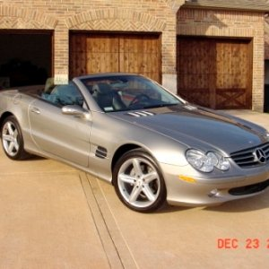 2004 MB SL500 (Wifey's other car)