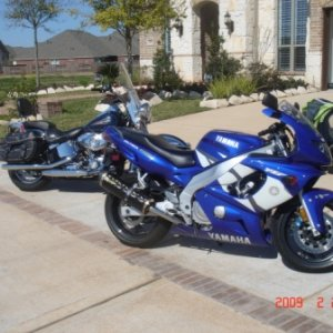 2002 Yamaha YZF600R, Twin Brothers Carbon Fiber exhaust
