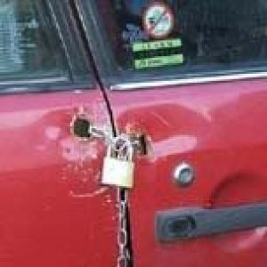 car lock small