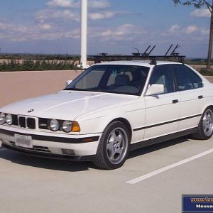 1991 Alpine White M5