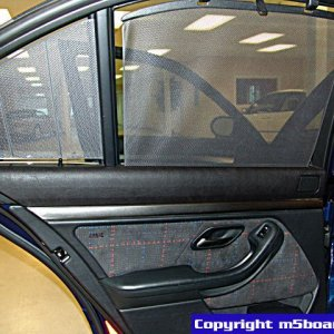 rear door sunshades