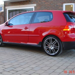 Golf GTI with 19' RS4 Alloys