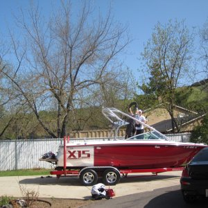 The Start of Wake Season. Prepping the boat.