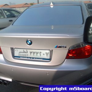 BMW M5 Individual Diamond Black