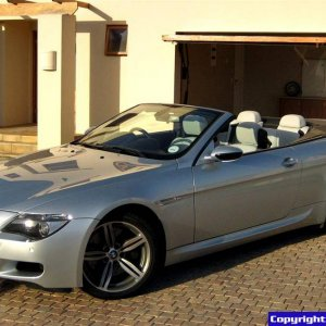 My BMW M6 convertible (Silverstone II)