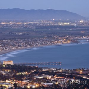 Overlooking Ventura Looking South