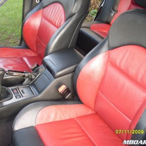 Red/Black Leather interior