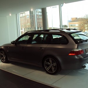 bmw m5 touring frozen gray 25 anniversary