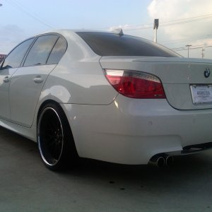 "My new M5 on DPE Aristo 20"" Wheels"