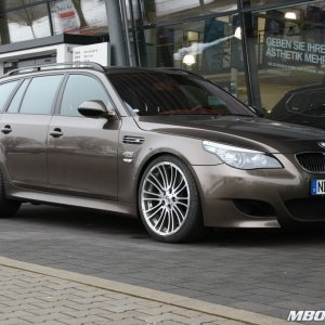 G-Power BMW M5 Touring E61 Hurricane RS Bikompressor 750 HP m5board.com gus