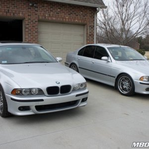 Father and Son E39 M5s!