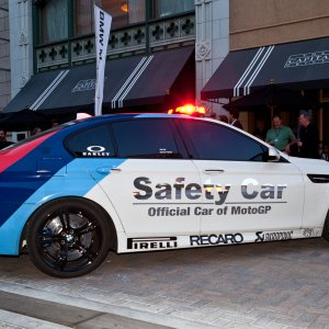 bmw m5 f10 pace car safety car indianapolis