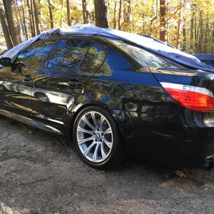 2008 BMW M5 (boy) 6 speed