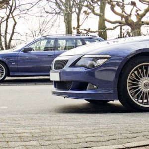 B6S Convertible & B10V8S Touring: next to each other