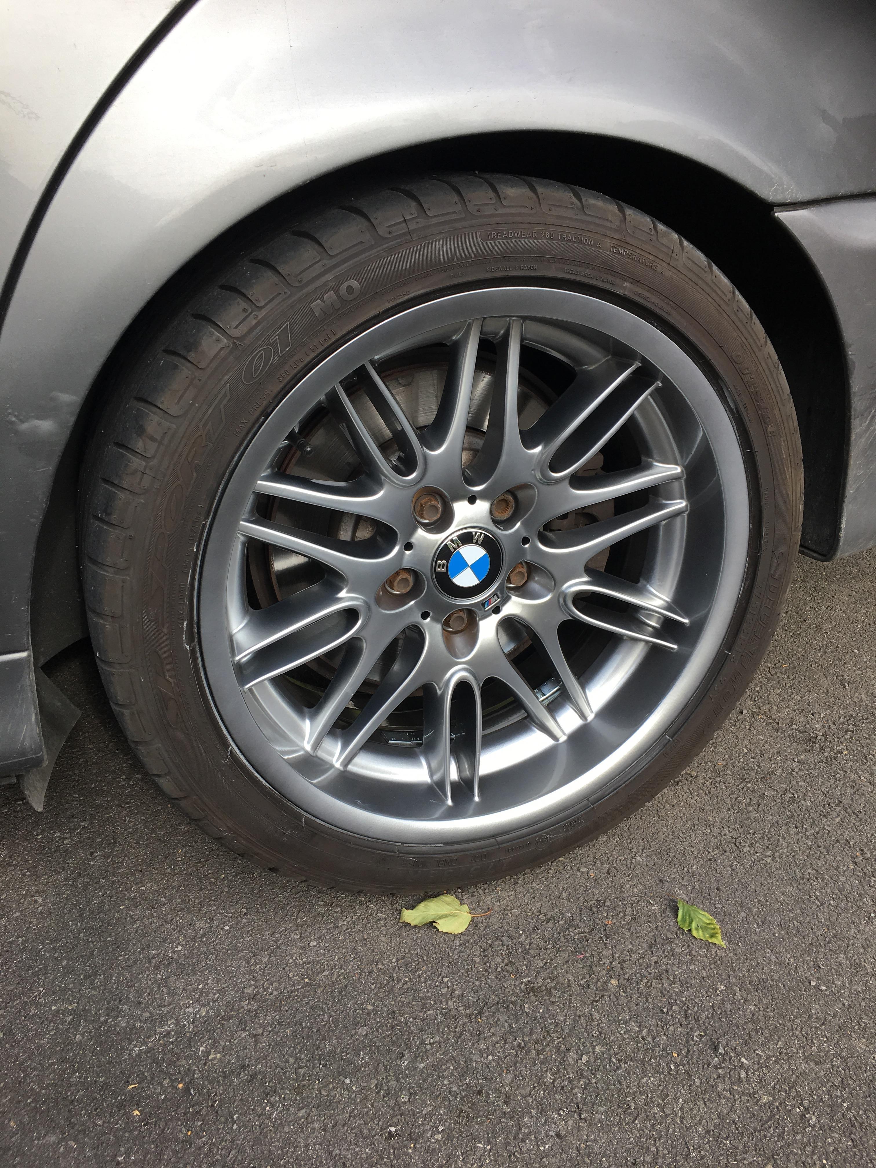 Shadow Chrome Wheel Restoration Uk Bmw M5 Forum And M6 Forums